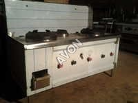 Three burner Chinese cooking Range (72x30x34+20)