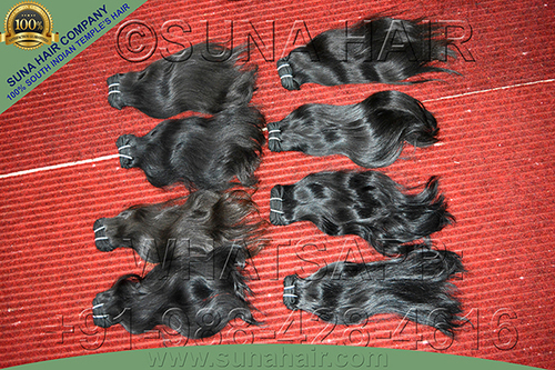 unprocessed remy natural silky straight human hair