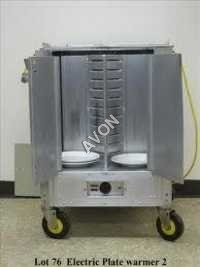 Commercial Plate Warmer Double type(30x15x34)
