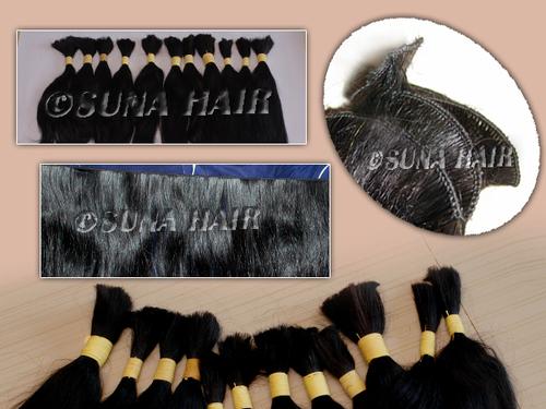 Cheap price shiny looking natural human hair