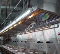 Commercial Exhaust Hood Snap