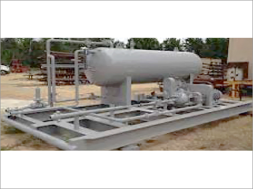 Industrial Gas Compressor Skid