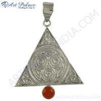 Triangle Simple Silver Jewelery