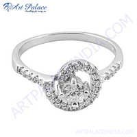 Fancy & Gemstone Jewelry Silver Round