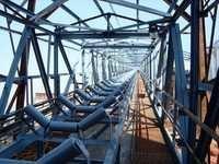 Wide belt conveyor