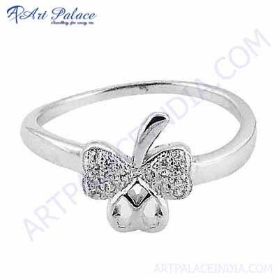 Stylish Heart Flower Designer Jewelry