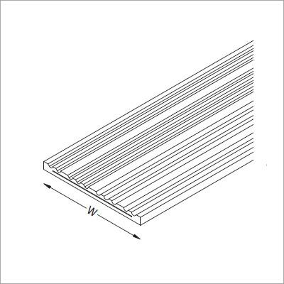 Gantrail Steel Reinforced Resilient Pad