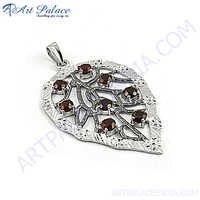 Designer Leaf Silver Jewelery
