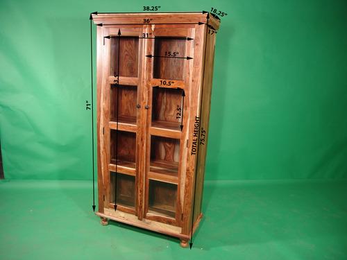 Double Door Display Cabinet