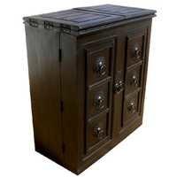 Dark Bar Cabinet