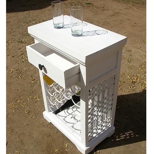 White Bar Cabinet