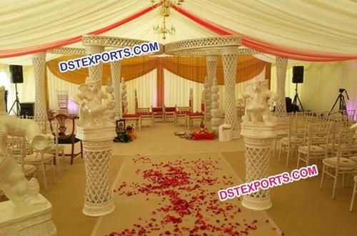 New Wedding  Ganesha  Pillar Mandap