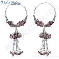 Fancy Gemstone Silver Jewelery