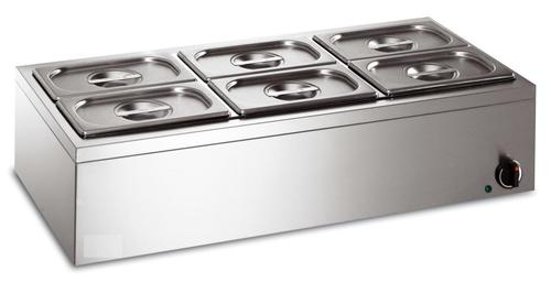 6 Container Bain Marie