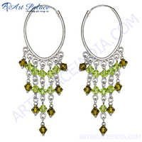 Indian Green Glass Round Shape Jewelery