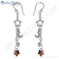 Party Wear Beads Star Style Earring