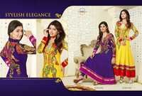 Designer Georgette Anarkali Suit