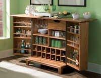Partition Bar Cabinet