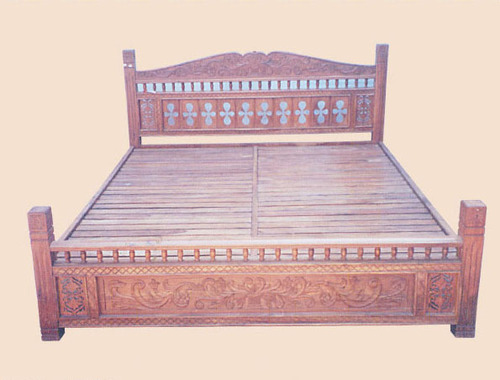 Simple Large Bed