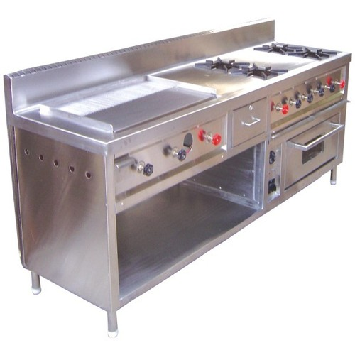 Multi Pupose Cooking Range