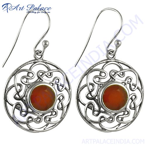 Fashionable Red Onyx Gemstone Jewelry