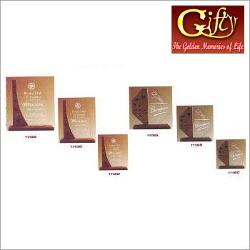 Wooden Award Plaques