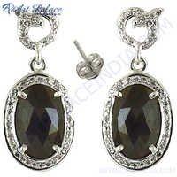 Diamond Victorian Silver Jewelry