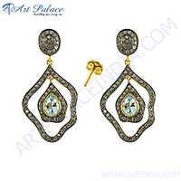 Designer Diamond Silver Jewelry