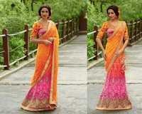 Lehenga Style Saree