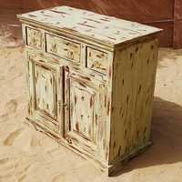 Grey Colour Sideboard Cabinet