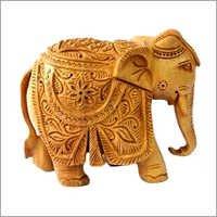 Wooden Elephant Craft