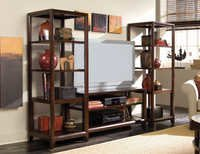 Tv units with bookshelves