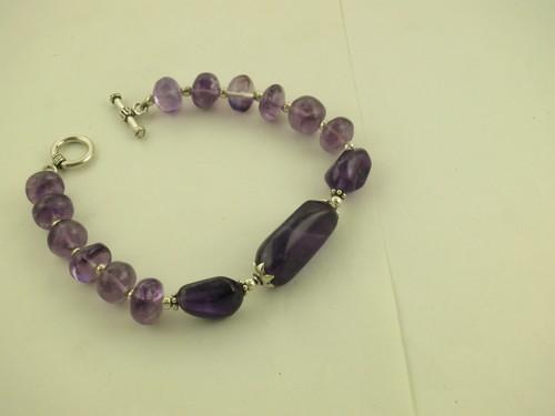 Purple African Amethyst Bead