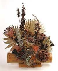Mixed Dry Flower Arrangement