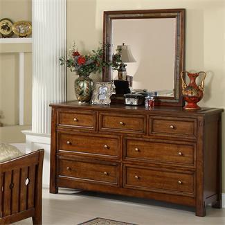 Dark Wood Dressing Table