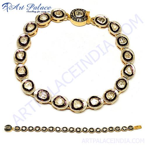 Gold Plated Victorian Silver Bracelet Manufacturer,Supplier In