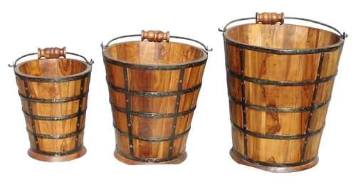 Wooden Baket