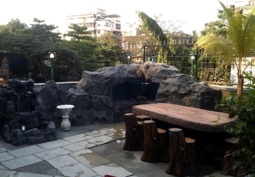 Aquarium Rock Setup