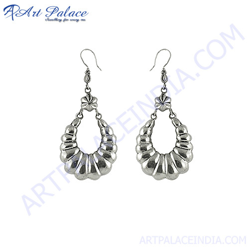 Indian Design 925 Silver Earring