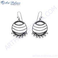 Traditional 925 Sterling Silver Earring
