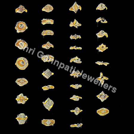 Gold Signity Ladies Rings
