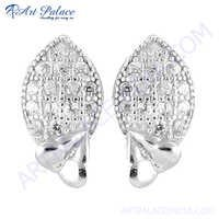 HOT!!! Luxury Gemstone Silver Earring