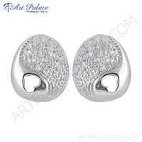Precious Antique Silver Earring