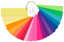 Pantone Nylon Shade Card