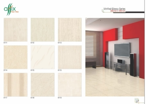 Vitrified Glossy Series Tiles 395mm x 395mm