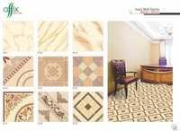 395mm x 395mm Ivory Matt Floor Tiles