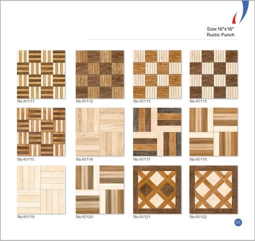 16x16 Ceramic Digital Floor Tiles