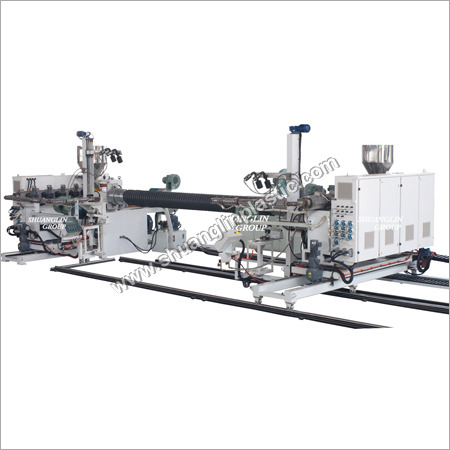 Corrugated Bell And Spigot Forming Machine