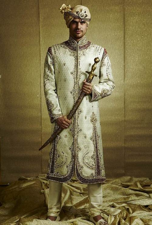 Ethnic Wedding Sherwani