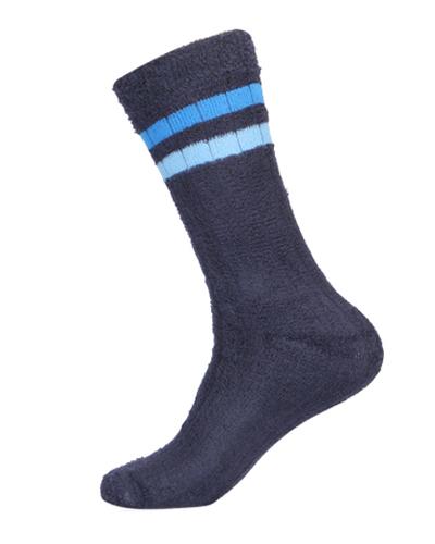 Terry Comfort Calf Length Stripes Socks